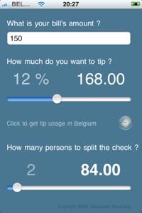 tip calculator for iphone geek 2 0