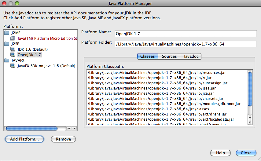 First run of OpenJDK 1 7 for Mac OS X « Geek 2 0