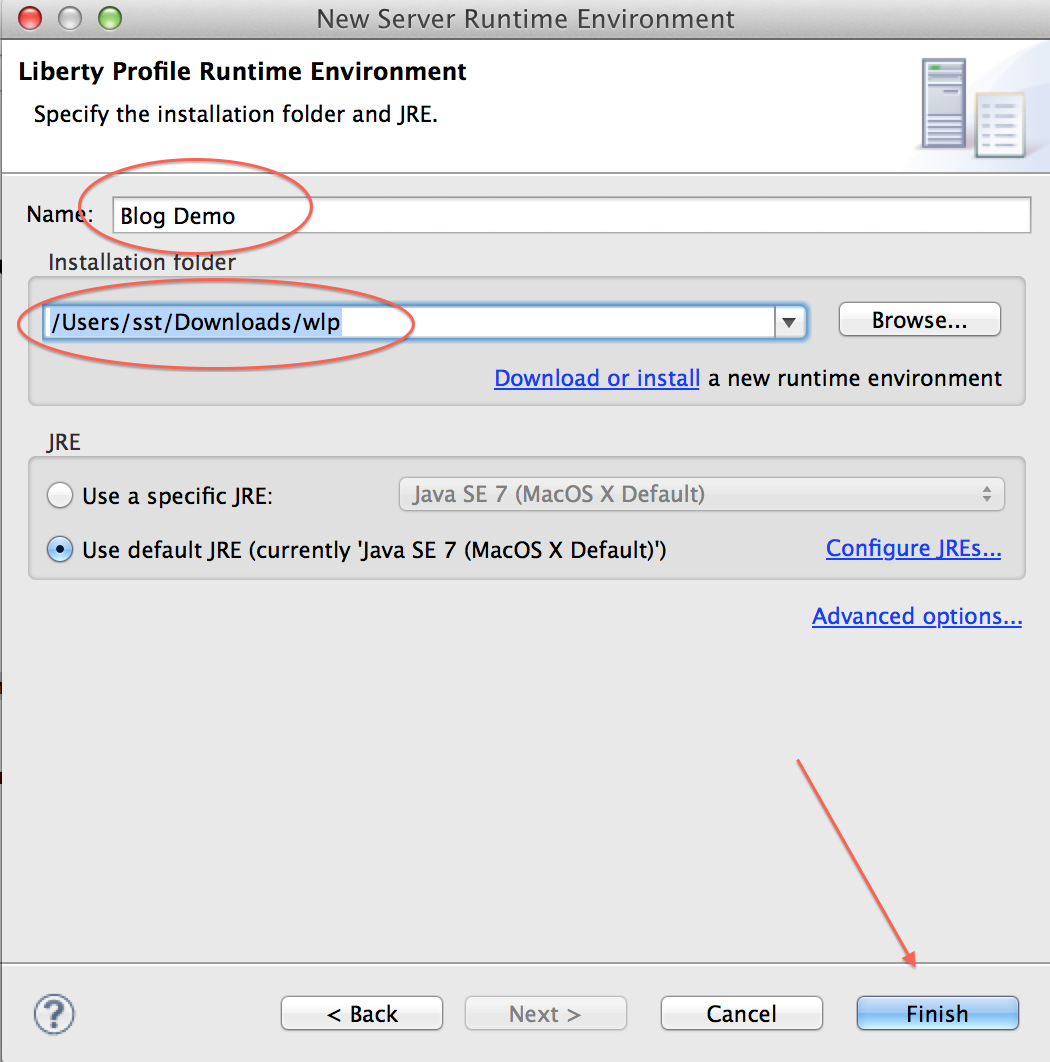 How to install WebSphere 8 5 Liberty profile on Mac « Geek 2 0