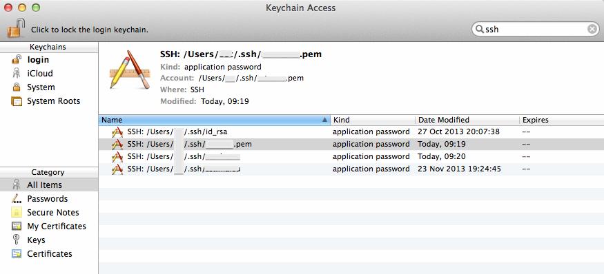 mac generate ssh key pem